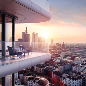 Grandiose Aussichten: Grand Tower in Frankfurt. Foto: Zabel Property AG